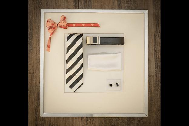 Geschenkbox Schwarz / Weiss