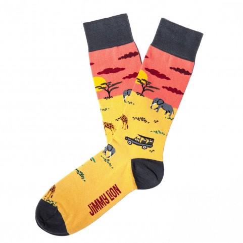 Socken Jimmy Lion - Safari