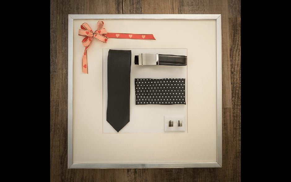 Geschenkbox Schwarz