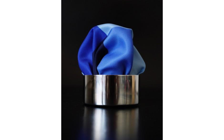 Pochette Quattro Quadrati Blau