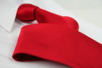 Krawatte Uni Feuerrot
