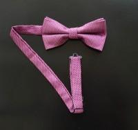 Fliege Sprenkel Pink hell / Purpurviolett