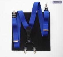 Hosenträger Uni Royalblau dunkel