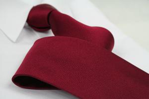 Krawatte Uni Korallenrot