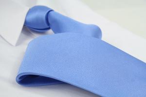Krawatte Uni Pastelblau