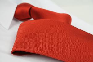 Krawatte Uni Rotorange