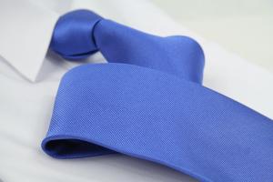 Krawatte Uni Taubenblau