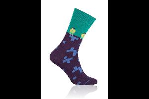 Socken Lego Grün