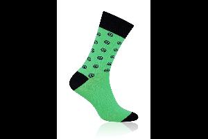 Socken Peace Grün