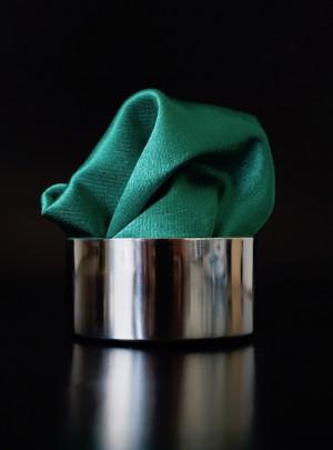 Pochette Uni Laubgrün